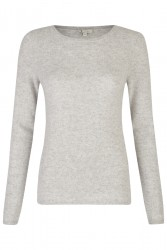 Pullover Cashmere / Taupe