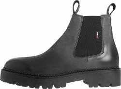 Herren Stiefelette BRUSHED CHUNKY CHELSEA BOOT / anthrazit